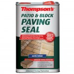 Thompsons Patio and Block Paving Seal Satin Finish - 5 Litre