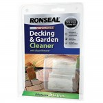 Ronseal Concentrated High Performance Decking Cleaner 2x20ml Capsules