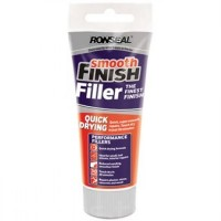 Ronseal Quick Drying Smooth Finish Wall Filler Ready Mix Tube - 100g