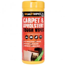 Smart Carpet and Upholstery Tough Wipes 40 Pack