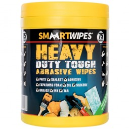 Smart Heavy Duty Tough Abrasive Wipes 75 Pack