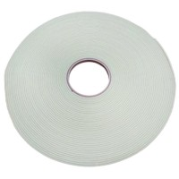Glass Safety Double Sided Glazing Tape White 3mm x 10mm x 25m