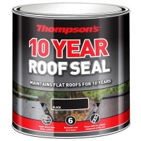 Thompsons High Performance Roof Seal Black - 4 Litre