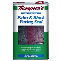 Thompsons Patio and Block Paving Seal - 5 Litre