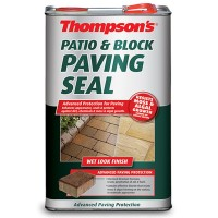 Thompsons Patio and Block Paving Seal Wet Look - 5 Litre