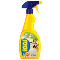 1001 Pet Stain and Odour Remover for Carpets and Upholstery- 500ml