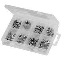 Fixman Hexagonal Nuts Pack - 108 Piece