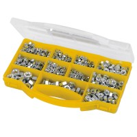 Fixman Zinc Plated Metric Hex Nuts Pack - 1000 Piece