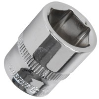 Silverline Metric Socket 1/4in Drive 14mm