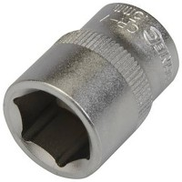 Silverline Metric Socket 3/8in Drive 15mm