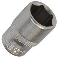Silverline Metric Socket 1/4in Drive 12mm