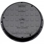 Underground Drainage Inspection Chamber Cover and Frame - 470mm