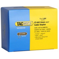 Tacwise CT-60 Cable Tacker Staples 14mm - 5000 Pack