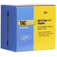 Tacwise Type 80 Series Staples 12mm - 10000 Pack