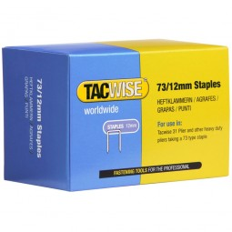 Tacwise Type 73 Series Heavy Duty Staples