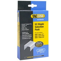 Tacwise Type 53 Series Staples Multipack 6mm - 10mm - 6000 Pack
