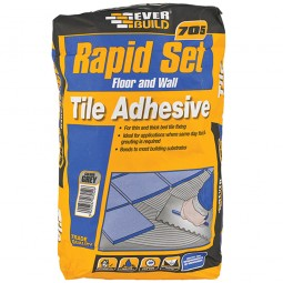 Everbuild Rapid Set Floor and Wall Tile Adhesive - 20kg