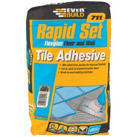 Everbuild Rapid Set Flexible Floor and Wall Tile Adhesive - 20kg