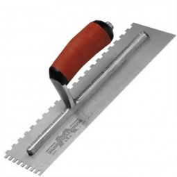 Marshalltown Durasoft Handle Square Notched Trowel 11in x 4.1/2in