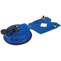 Silverline Adjustable Tile Drill Bit Guide upto 45mm with Suction Pad