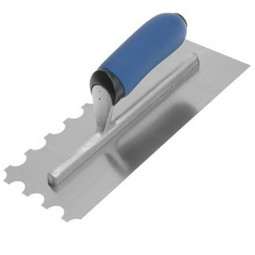 Vitrex 102906 20mm Round Adhesive Trowel Stainless Steel