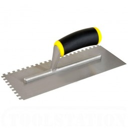 Vitrex 102952 4mm Square Notched Adhesive Mosaic Trowel 280mm