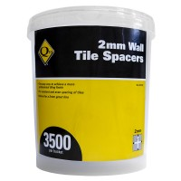 QEP 2mm Wall Tile Spacers 3500 Pack