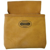 Faithfull Suede Nail Pouch Single Pocket