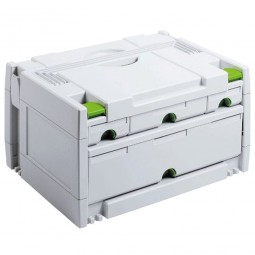 Festool SYS 3-Sort/4 Systainer T-Loc Organiser Storage Box Drawers