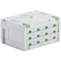 Festool SYS 3-Sort/12 Systainer T-Loc Organiser Storage Box Drawers