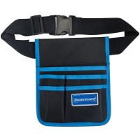 Silverline Ballistic Nylon Tool Pouch and Belt 5 Pocket