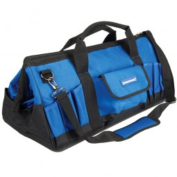 Silverline Tool Bag Hard Bottom Wide Mouth 600mm
