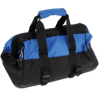 Silverline Tool Bag Hard Bottom Wide Mouth 420mm