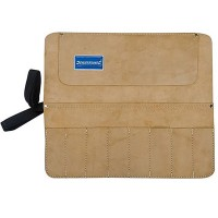 Silverline Leather Chisel and Tool Roll - 8 Pocket