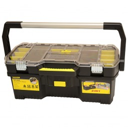 Stanley Toolbox with Detachable Tote Tray Organiser - 24in