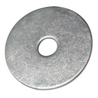 Mud Guard Washers Zinc Plated 6mm x 50mm - 10 Pack