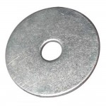 Mud Guard Washers Zinc Plated 8mm x 50mm - 10 Pack