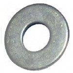 Penny Washers Zinc Plated 5mm x 25mm - 10 Pack