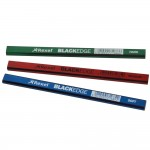 Rexel Blackedge Carpenters Pencils - 12 Pack