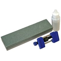Faithfull Chisel Sharpening Oil Stone Guide Honing Kit