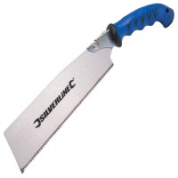 Silverline Tri-Cut All Purpose Pull Saw 240mm / 9.1/2in