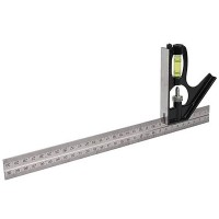 Silverline Combination Square 300mm / 12in