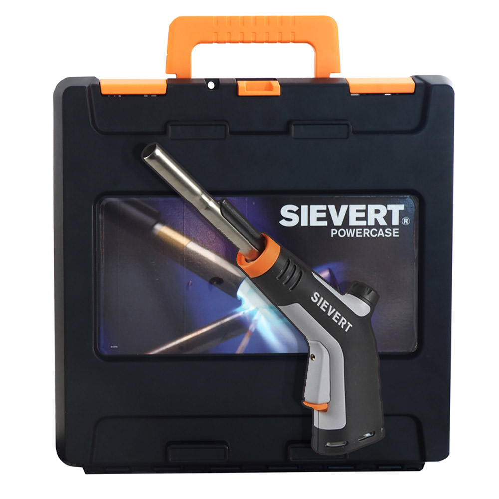Sievert Powerjet Piezo Professional Gas Torch with UNEF Thread